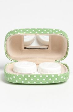 Reasonable Mini Mirror Contact Lens Travel Kit Easy Carry Case Storage Holder Container Box To Ensure Smooth Transmission Men's Glasses Back To Search Resultsapparel Accessories
