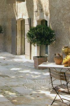 Antique Kronos Stone mediterranean floors
