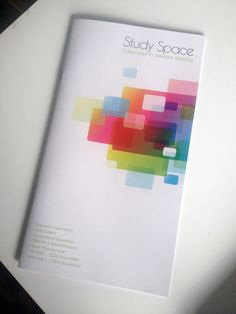 study space environmental brochure for schools Annual Report Covers, Cover Report, Study Space, Book Covers, Schools, Aesthetics, Graphic Design, Marketing, Learning