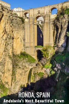 The Beautiful Spanish Town of Ronda - Things to do in Ronda. What to see in Ronda. #spain #ronda #travel #andalucia