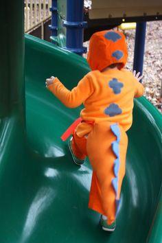 Buddy T-rex (Dinosaur Train) costume by Buzzmills