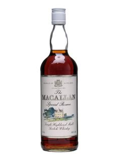 Macallan Special Reserve Scotch Whisky : The Whisky Exchange