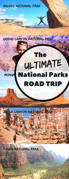 The ultimate driving itinerary of America's top national parks.