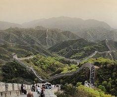 Great wall of china looks idilic