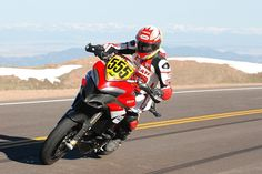 Since making its debut in 2008, Ducati has conquered the mountain with six victories at Pikes Peak International Hill Climb with its famous motorcycles.