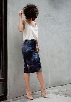falda tubo boho - Buscar con Google