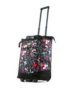 Look what I found on #zulily! Butterfly Fashion Wheeled 30'' Shopper Tote by Olympia #zulilyfinds