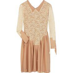 Heather dress ($1,600) ❤ liked on Polyvore