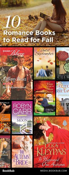 10 romance books to read this fall, including novels from Lisa Kleypas and Robyn Carr.