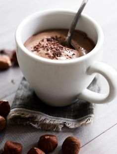 #coffee #capuccino #zest #chocolate #nuts #creamy
