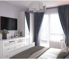 Discover recipes, home ideas, style inspiration and other ideas to try. Small Master Bedroom, Home Bedroom, Modern Bedroom, Bedroom Decor, Suites, Luxurious Bedrooms, My New Room, Beautiful Bedrooms, Bed Design