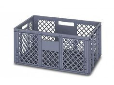 55 Litre Ventilated Perforated Euro Plastic Stacking Container - Stackable Storage Box