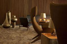 Hotel I Interior I Furniture I Hotel L'AND Vineyards I Beat Vessel Floor Vase & Base Light Table Lighting by Tom Dixon