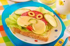 Dekoracyjna kanapka dla dziecka