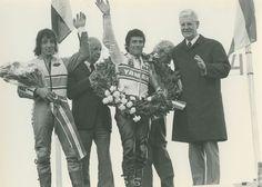 Piet van de Wal en Giacomo Agostini TT Assen 1973