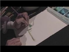 Watercolor Painting : Grass Painting Techniques