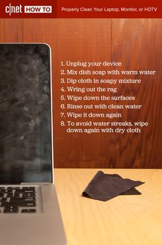 No, you're not supposed to use Windex on that. Keep computer screens and phone screens tidy and clean with a microfiber cloth, some dish soap, and warm water. Check out this quick tutorial, then roll up your sleeves.