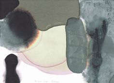 Gerhard Richter 17 Nov 2008 2008 21 cm x 29.7 cm Indian ink and white spirit on paper