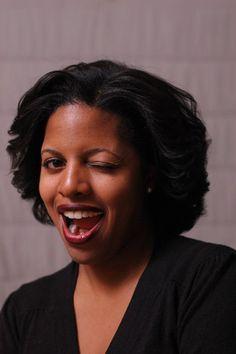 Jolawn Victor, speaker at BlogHer '13. ~Melisa
