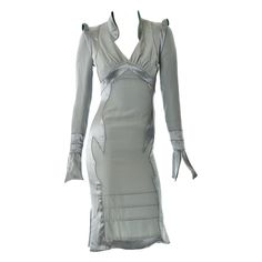 Yves Saint Laurent by Tom Ford , Fall 2004 pagoda dress New/Tags