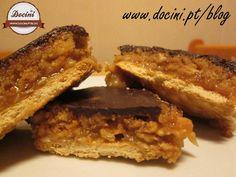 Barras de Chocolate e Toffee