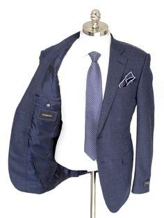 ERMENEGILDO ZEGNA Mila Solid Navy All Season Wool 2Btn Coat Jacket  |  Have at it! http://www.frieschskys.com/blazers  |  #frieschskys #mensfashion #fashion #mensstyle #style #moda #menswear #dapper #stylish #MadeInItaly #Italy #couture #highfashion #designer #shop