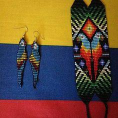 ec91d15082f2 Artículos similares a Belleza de transformación de mariposa con cuentas  Pulsera - 23 grano (Colombia) en Etsy