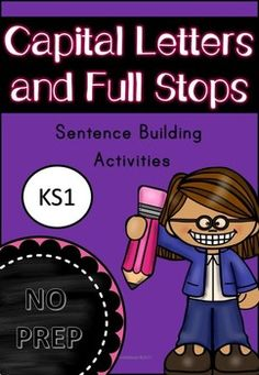 This resource is excellent for emergent readers and writers. This download includes- -Writing Activities focusing on Full stops and Capital Letters -Sentence and Word Order worksheets -Basic sentence building blocks for emergent readers -90 sentence builders