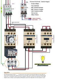 Esquemas eléctricos: esquema electrico de arranque motor trifasico estr...