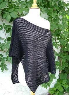 the New Yorker Poncho... I'm going to try and make this one in Seafoam