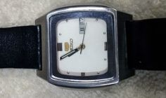 Vintage Seiko 5 Automatic Day-Date 23-Jewels Men's Wrist Watch AS-12