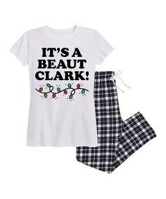 Nap Chat White   Black Plaid  It s a Beaut Clark! c97a45373