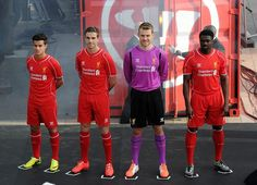 Liverpool FC's new kit launch for 14/15
