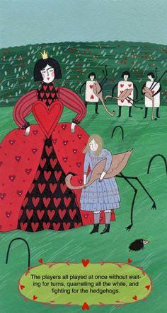 Classics Unfolded: Alice in Wonderland - Illustration by Yelena Bryksenkova Alice In Wonderland 1, Alice In Wonderland Illustrations, Lewis Carroll, Complicated Image, Islamic Patterns, Japanese Patterns, Freelance Illustrator, Interactive Design, Abstract Pattern