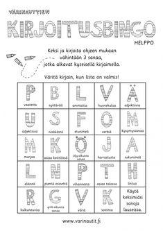Kirjoittaminen - Värinautit Finnish Language, Primary English, Kids Schedule, Teaching Aids, Learning To Write, Proud Of Me, Creative Writing, Writing Prompts, Literature