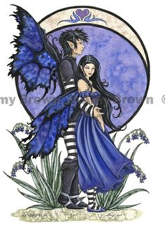 Fairy Art Artist Amy Brown: The Official Online Gallery. Fantasy Art, Faery Art, Dragons, and Magical Things Await. Dragons, Elfen Fantasy, Amy Brown Fairies, Kobold, Fairy Pictures, Gothic Fairy, Fantasy Kunst, Love Fairy, Gnome