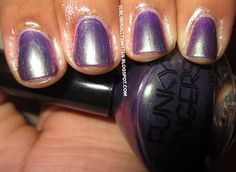Funky Fingers Venom.  Hump Day Mani at Subliminally Smitten Blog.  Grab the Button and Link up.