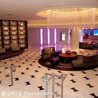 The lobby at the Fontainebleau Miami Beach.