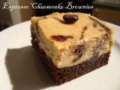 TWD: Espresso Cheesecake Brownies