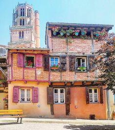 La touche française - Albi France Aquitaine, Toulouse, French Wine, French Food, Honfleur, Fontainebleau, Beaux Villages, French Beauty, France Travel