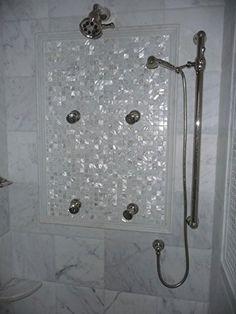 Vogue Tile Oyster Mother of Pearl Square Shell Mosaic for Kitchen Backsplashes, Bathroom Walls, Spa Tile, Pool Tile