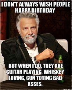 Happy Birthday Guns | Happy Birthday My Friends