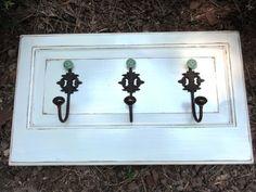 Repurposed Wood Door Panel RUSTIC/ DISTRESSED by hollandshandiwork, $78.00