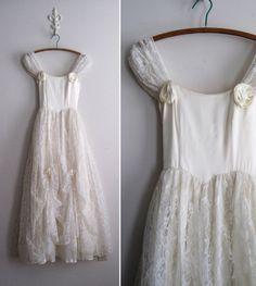 Vintage 70s Gunne Sax Wedding Dress Gypsy by ShantyIrishVintage