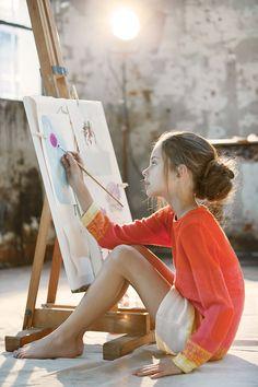 Alexandrena Parker Young Girl Fashion, Preteen Girls Fashion, Little Girl Fashion, Kids Fashion, Cute Poses, Kid Poses, Little Girl Models, Child Models, Beautiful Children