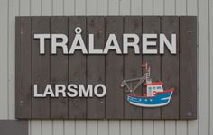 Sign for a pre-school, Larsmo, Finland. Iron sulphate treated spruce and HDU. Pre School, Finland, Iron, Signs, Home Decor, Decoration Home, Room Decor, Shop Signs, Home Interior Design