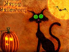 Happy Halloween Everyone!!!  Stay safe and bring your pets in.  Especially if you have black cats!  Thank you!