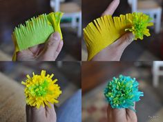 Crepe Paper Flowers @Juliet Tiu