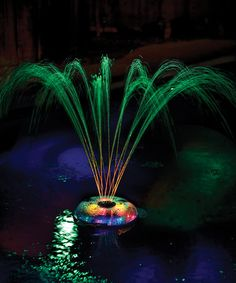 Underwater Light Show & Fountain #zulily #zulilyfinds