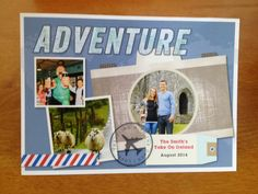@sschoeff3 used a Treat card to send a personal hello to her family while she was traveling.